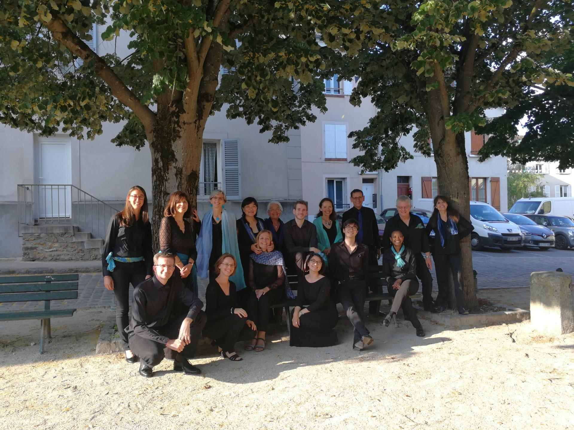 Ensemble vocal le 30 juin 2018 à Bièvres